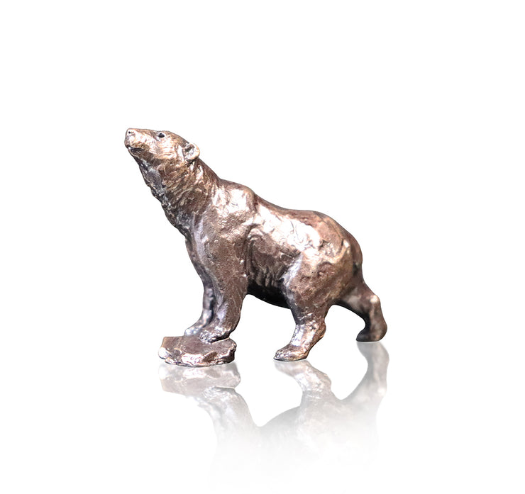 Polar Bear Miniature Bronze by Butler and Peach