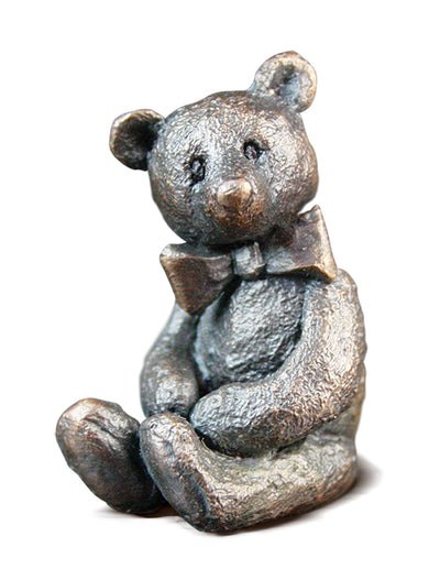 Arthur Solid Bronze Teddy Bear by Michael Simpson