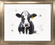 Dairy Daisy Limited Edition Print by Lesley Palmer Framed Bronze