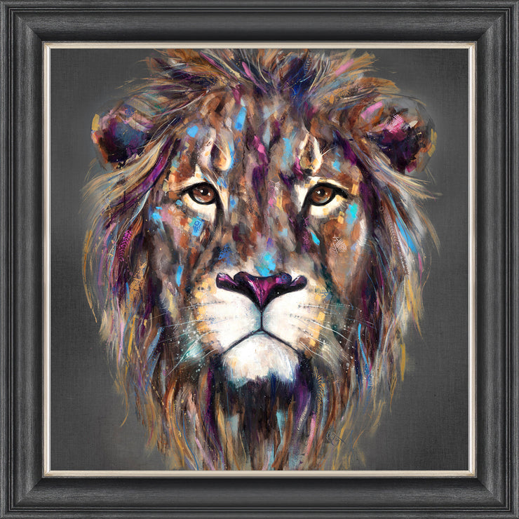 Kendi framed print by Louise Luton