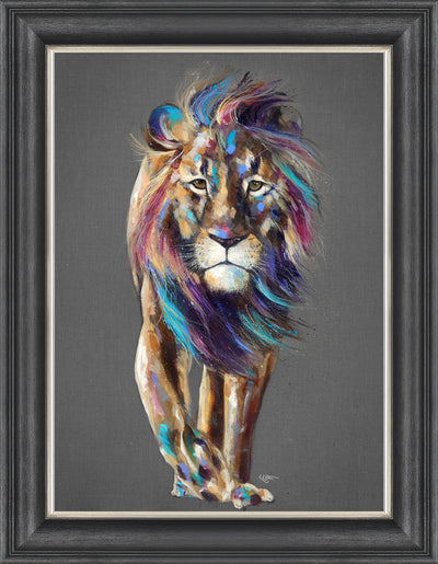 Pride framed print by Louise Luton
