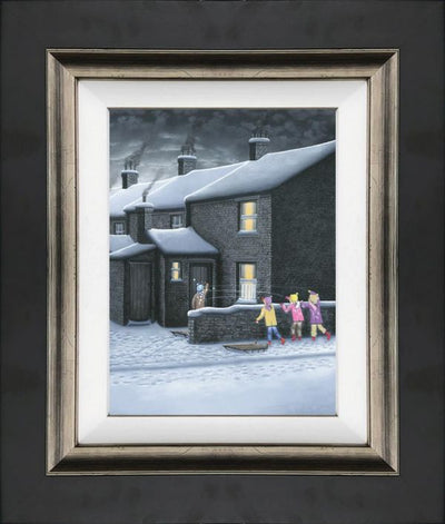 A Parting Shot limited edition framed print by Leigh Lambert