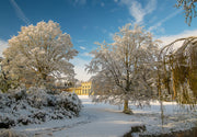 A Wintry Attingham Limited Edition Print by Rob Hall