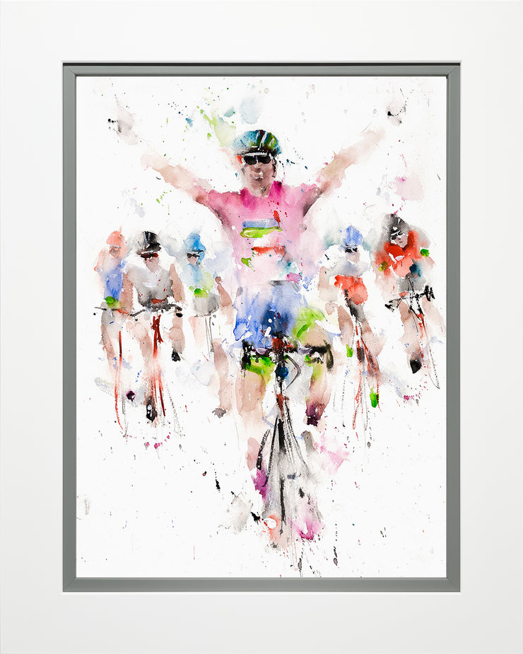 Across the Line limited edition print by Roger Simpson