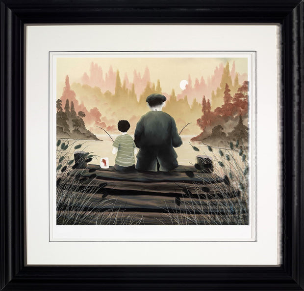 All Our Yesterdays limited edition framed print by Mackenzie Thorpe