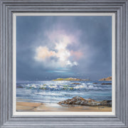 Evening Waves Original Painting by Allan Morgan