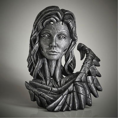 Angel Bust Silver Spirit from Edge Sculpture by Matt Buckley