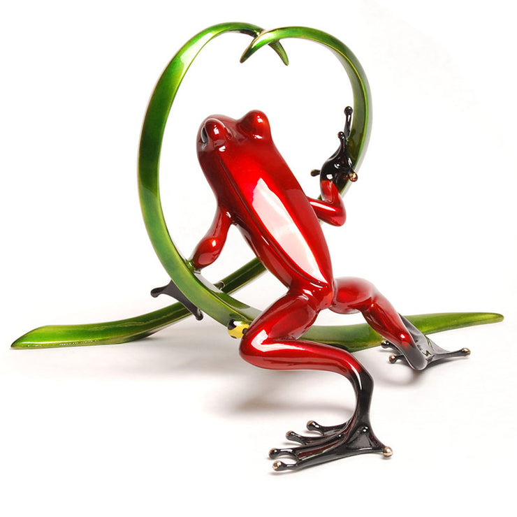 Arrow Bronze Sculpture by Tim Cotterill Frogman