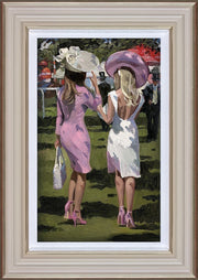 Ascot Chic II limited edition print by Sherree Valentine Daines