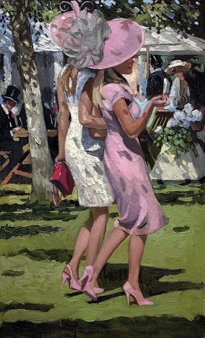 Ascot Chic I limited edition print by Sherree Valentine Daines