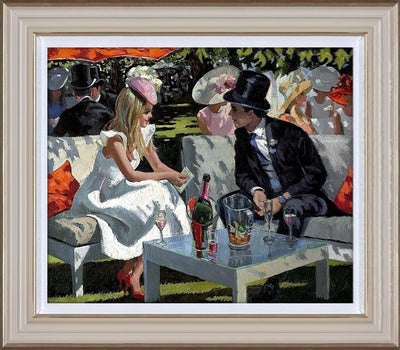 Ascot Glamour limited edition print by Sherree Valentine Daines