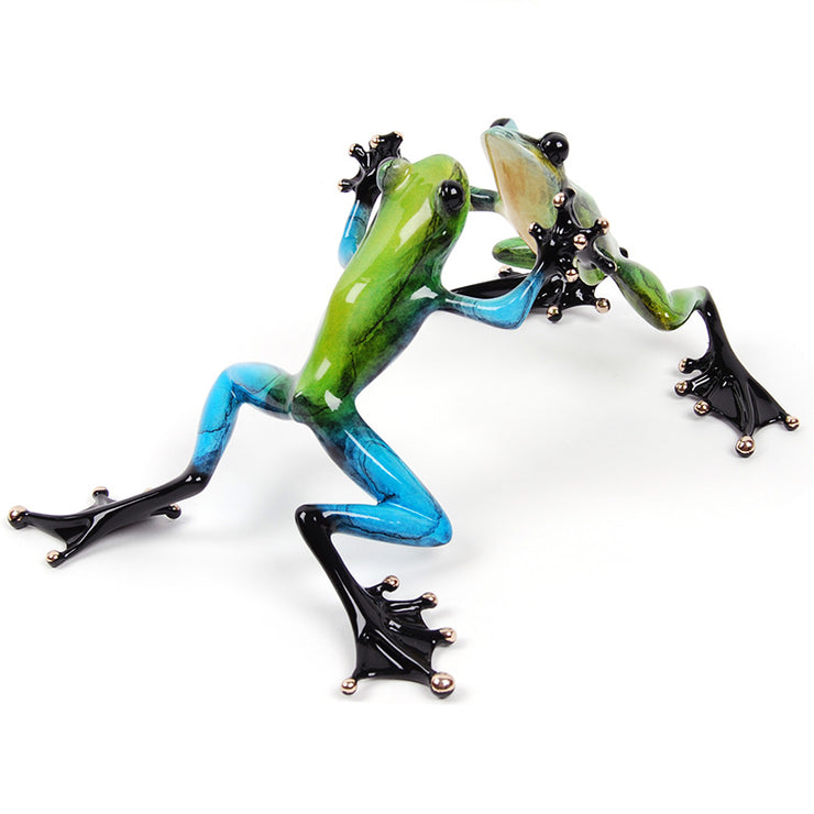 Jitterbug Limited Edition Bronze Sculpture by Tim Cotterill Frogman