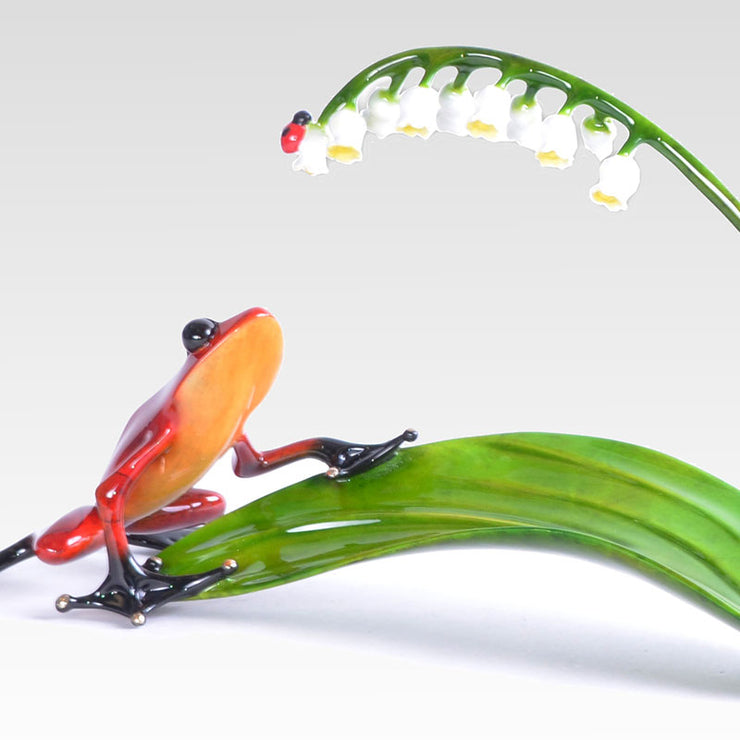 Lily of the Valley Sculpture by Tim Cotterill Frogman