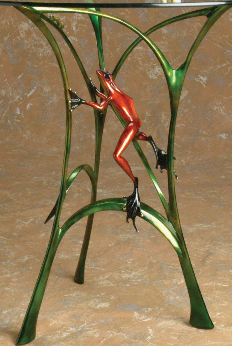 Let's Do Lunch Limited Edition Bronze Sculpture by Tim Cotterill Frogman
