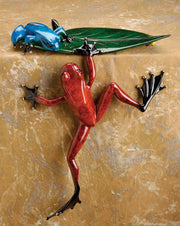 Cliffhanger Limited Edition Bronze Sculpture by Tim Cotterill Frogman