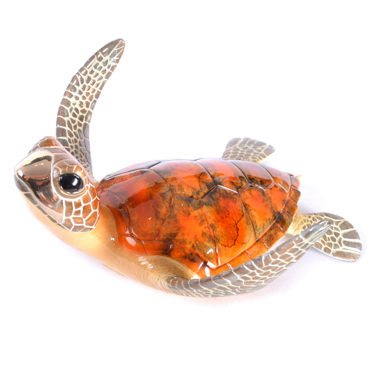 Kona Sea Turtle Sculpture by Chris Barela