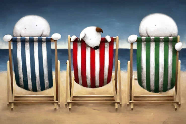 Beside the Seaside limited edition framed print by Doug Hyde