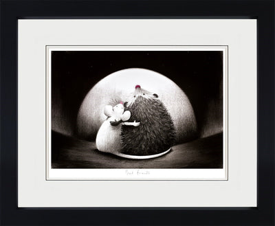 Best Friends limited edition framed print by Doug Hyde