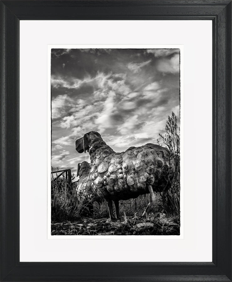 Follow Me Limited Edition Print by Neil Murray Black Frame