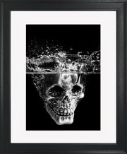 Splash Limited Edition Print by Neil Murray Black Frame