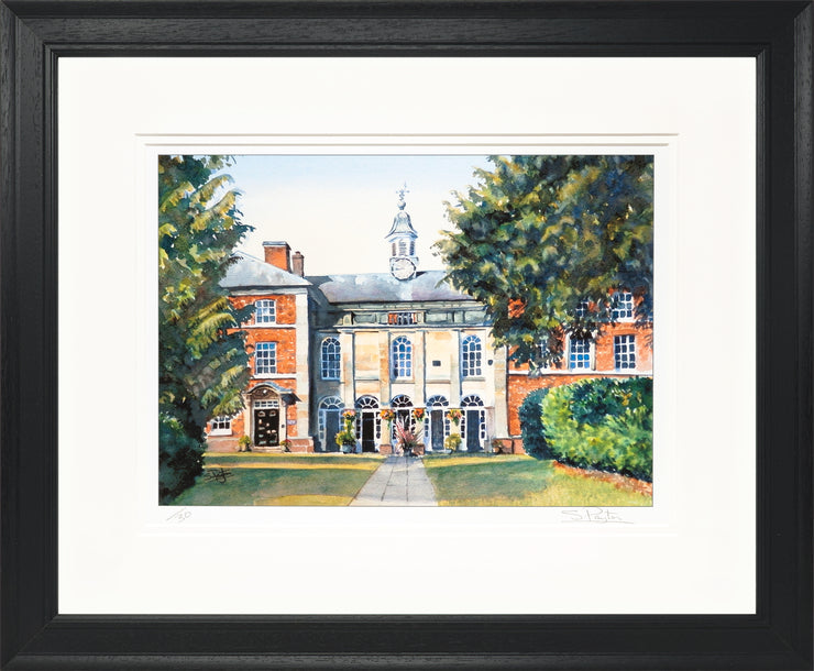 Adams Limited Edition Print by Sue Payton Framed Black