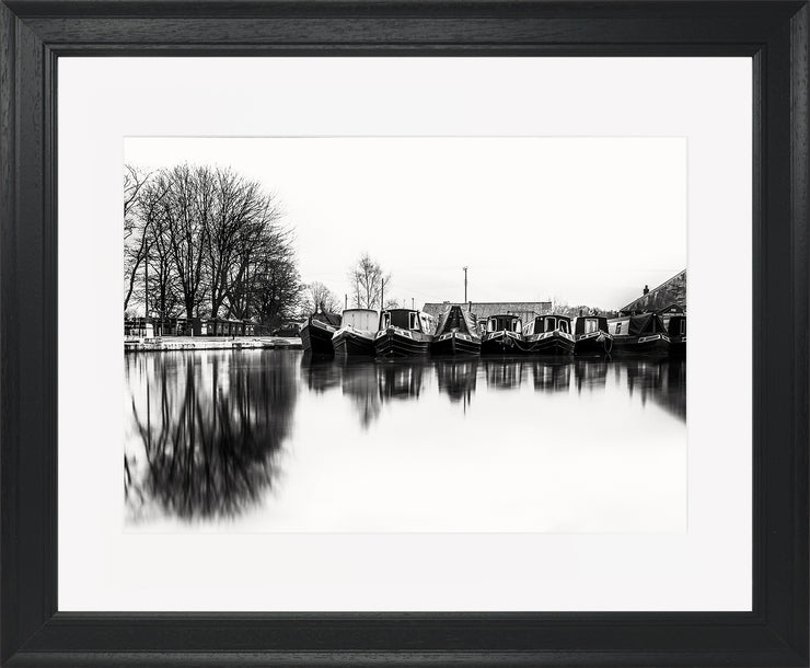 Still Limited Edition Print by Neil Murray Black Frame