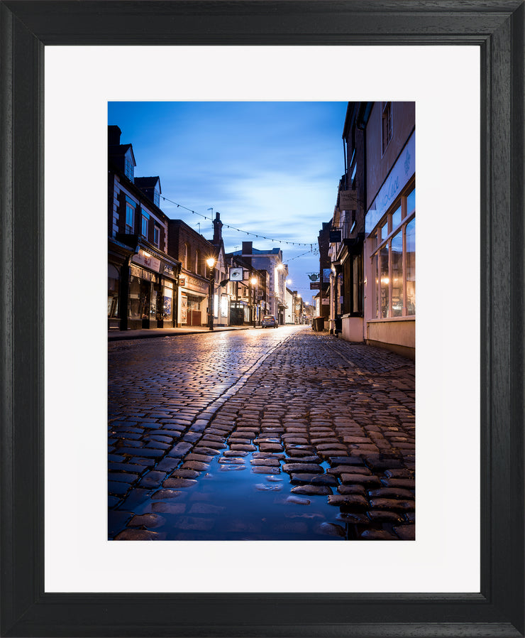 St Mary's Limited Edition Print by Neil Murray Black Frame