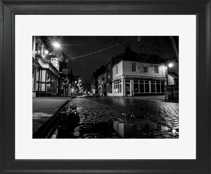 St Mary's 2 Limited Edition Print by Neil Murray Black Frame