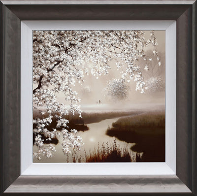 Blossoming Dreams limited edition framed print by John Waterhouse