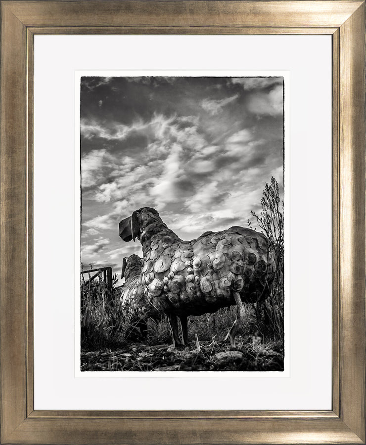 Follow Me Limited Edition Print by Neil Murray Bronze Frame