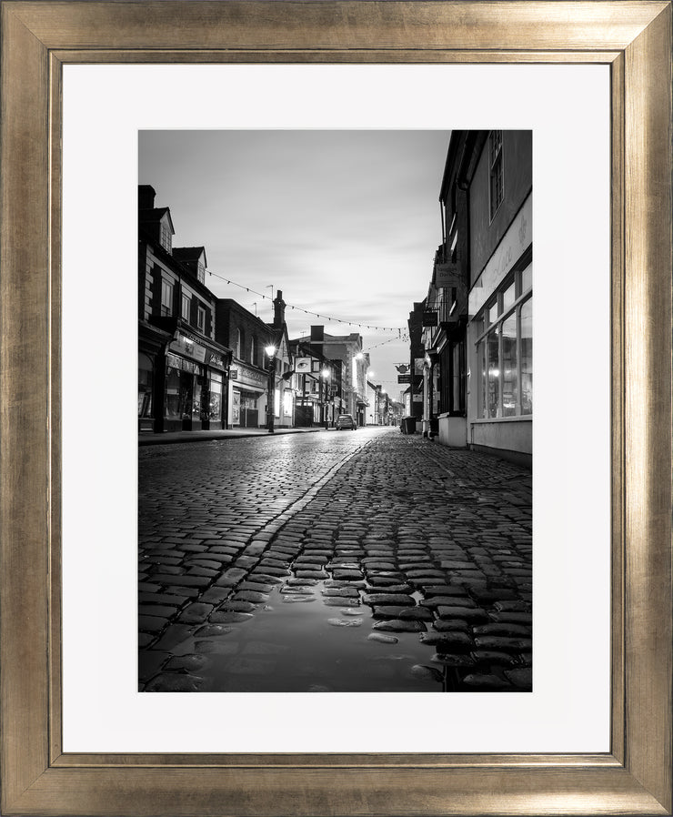 St Nicholas limited edition print by Neil Murray Bronze Frame