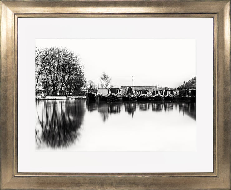 Still Limited Edition Print by Neil Murray Bronze Frame