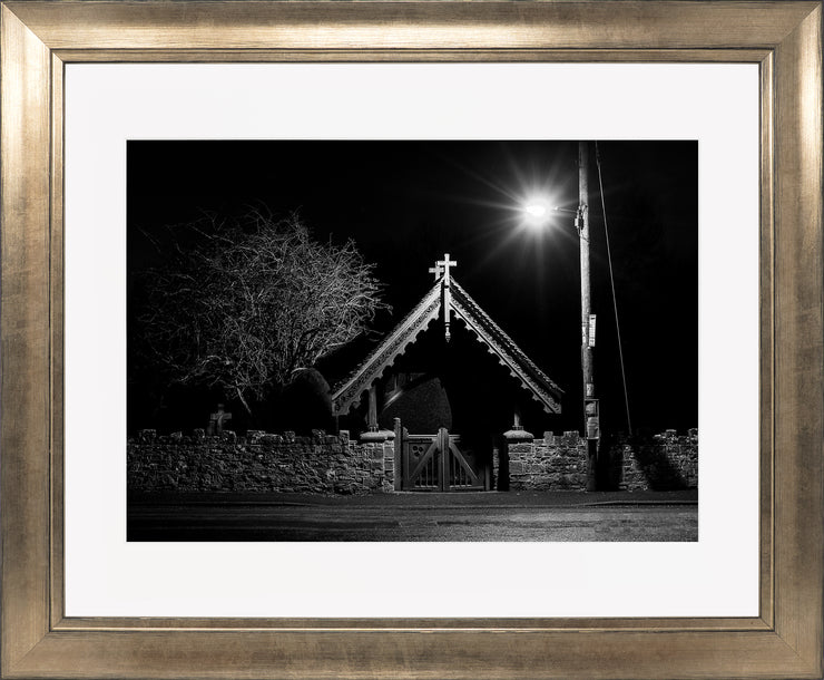 The Gate Limited Edition Print by Neil Murray Bronze Frame