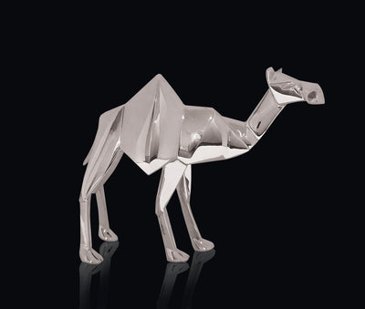 Camel Sterling Silver Origami Sculpture by Sophie Mackrell