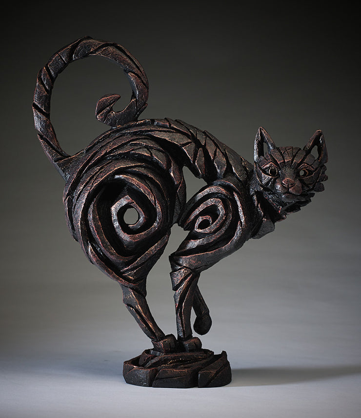 Black Cat by Edge Sculpture
