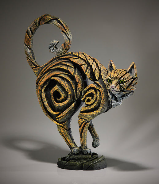 Cat Ginger by Edge Sculpture