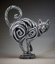 Cat White by Edge Sculpture