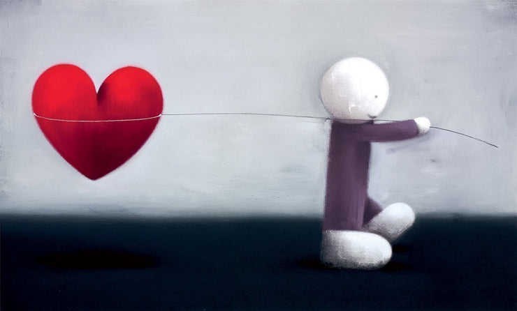 Caught Up In Love limited edition framed print by Doug Hyde