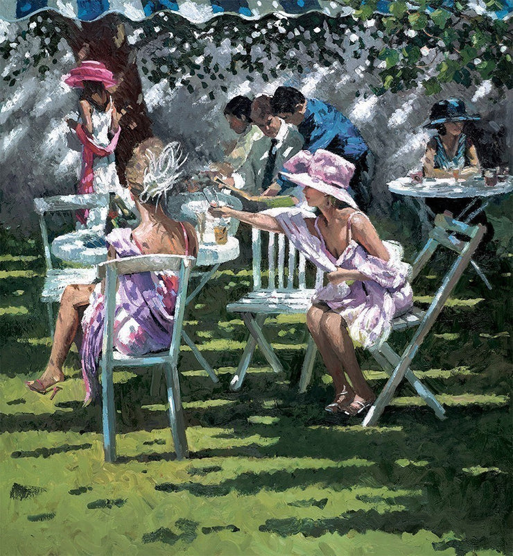 Champagne in the Shadows limited edition print by Sherree Valentine Daines