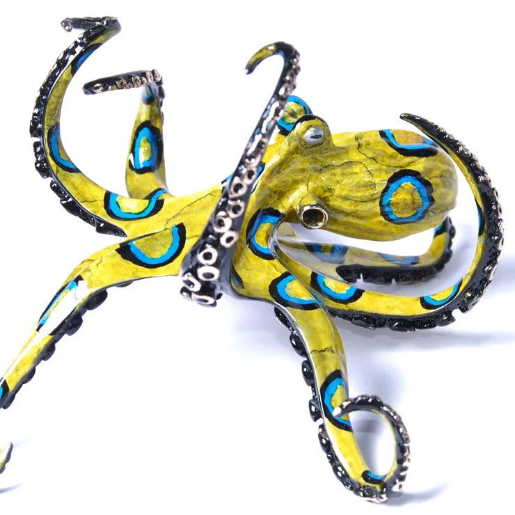 Ringo Bronze Octopus Sculpture by Chris Barela