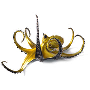 Champagne Bronze Octopus Sculpture by Chris Barela