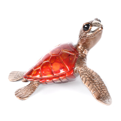 Honu Bronze Sea Turtle Sculpture by Chris Barela