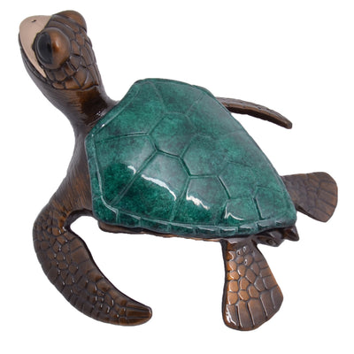Makana Bronze Sea Turtle Sculpture by Chris Barela