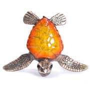 Showy Bronze Sea Turtle Sculptures by Chris Barela