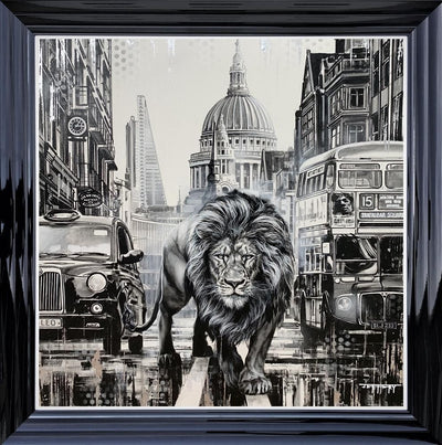City Guardan limited edition canvas print by Ben Jeffery