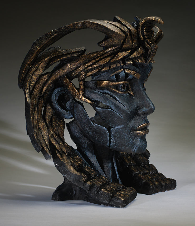 Cleopatra Egyptian Blue by Edge Sculpture