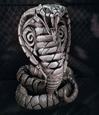 Cobra Silver Limited Edition by Edge Sculpture