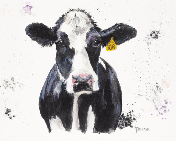 Dairy Daisy Limited Edition Print by Lesley Palmer