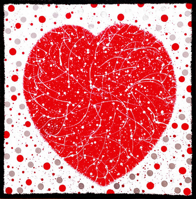 DottyHeart.jpg  1308 × 1324px  Dotty Heart original box canvas by Julie