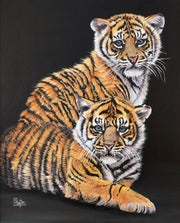 Double Trouble Original Painting by Sue Payton